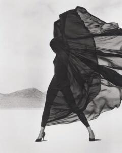 Herb Ritts, Versace, Veiled Dress, 1990