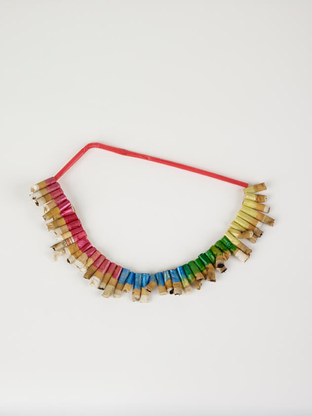Francis Upritchard, Lip Sticked Necklace, 2009