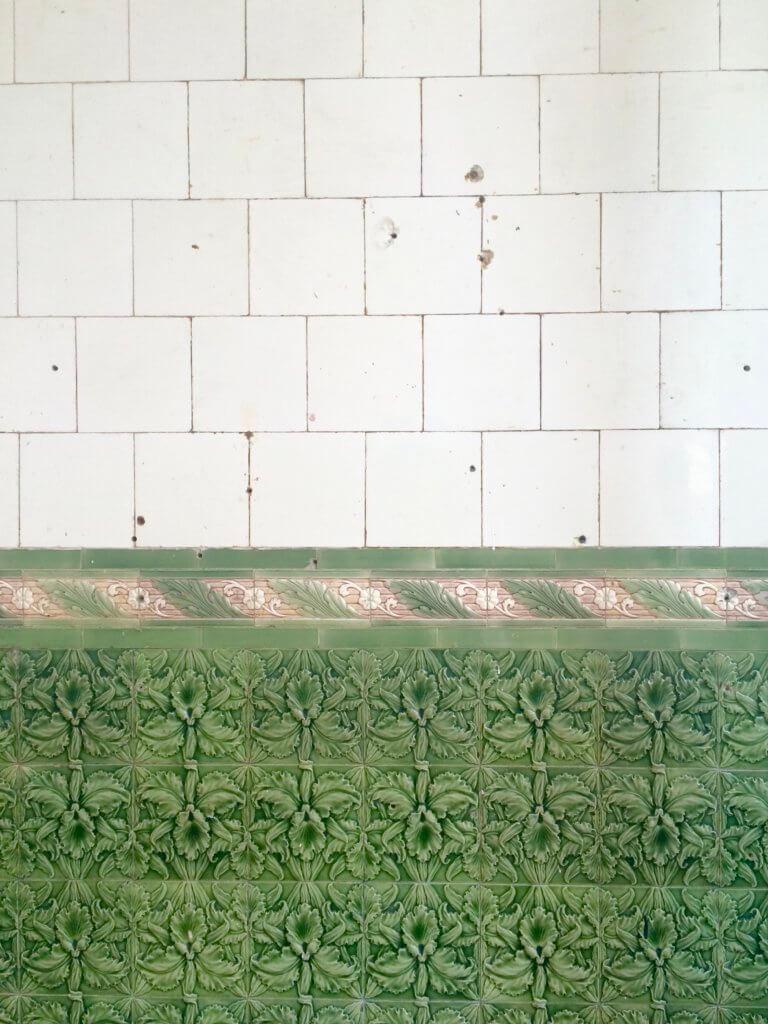 Tile wall, SEEDS London