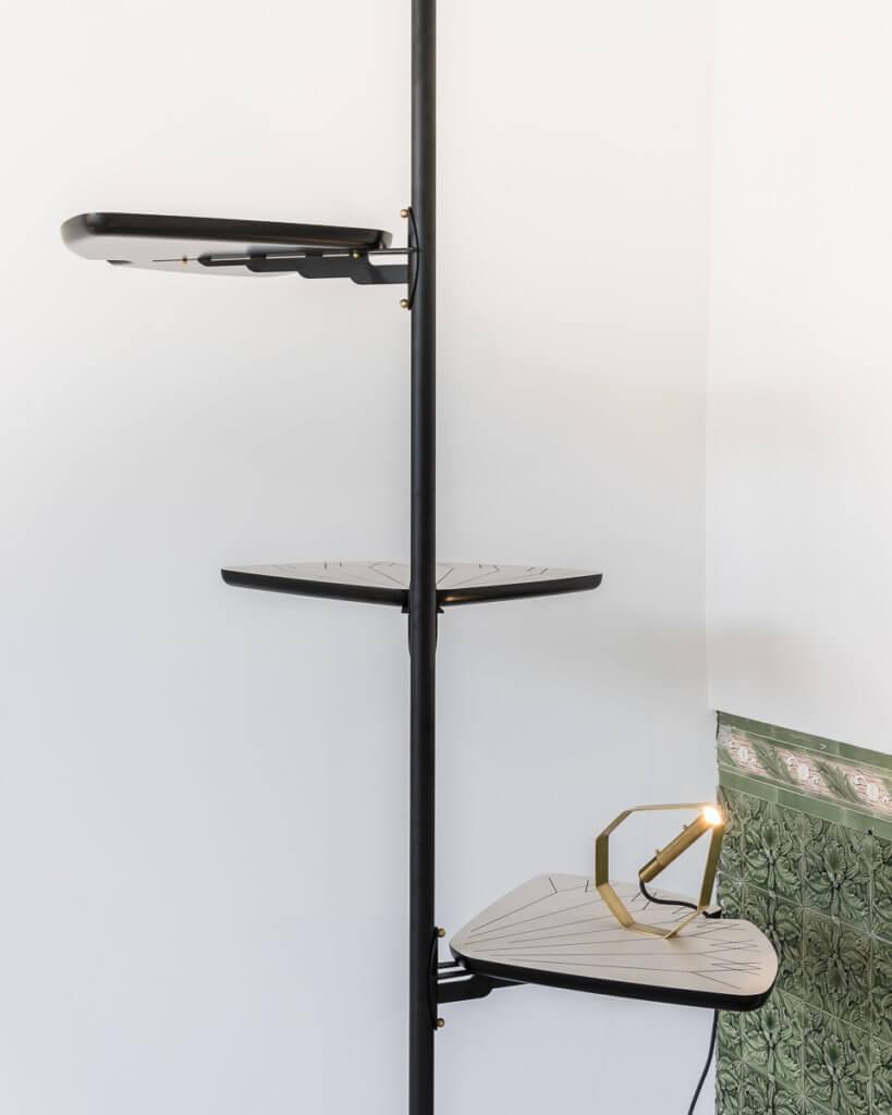 Pietro Russo, Ginko Shelf & Otto Lamp, 2016