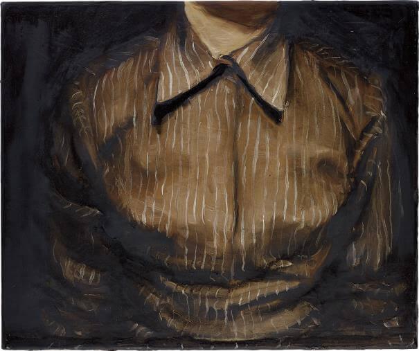 Michael Borremans, The shirt, 2002