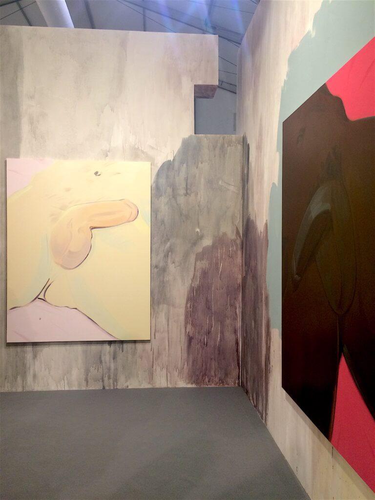 Celia Hempton, Installation view, Southard Reid Gallery at Frieze Art Fair 2016