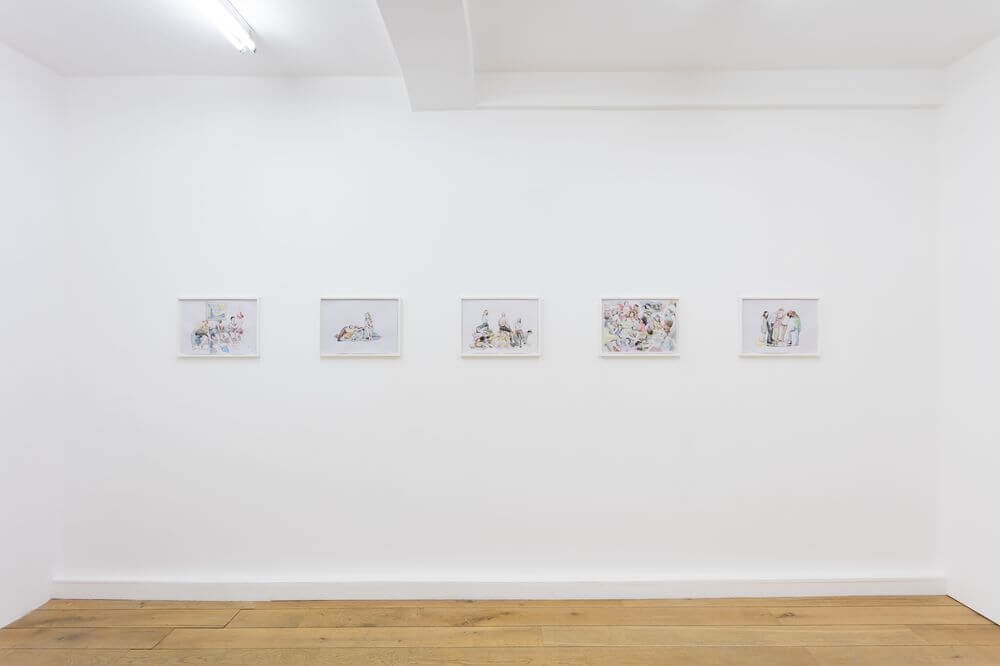 Edward Thomasson, Other People (2016), Installation view