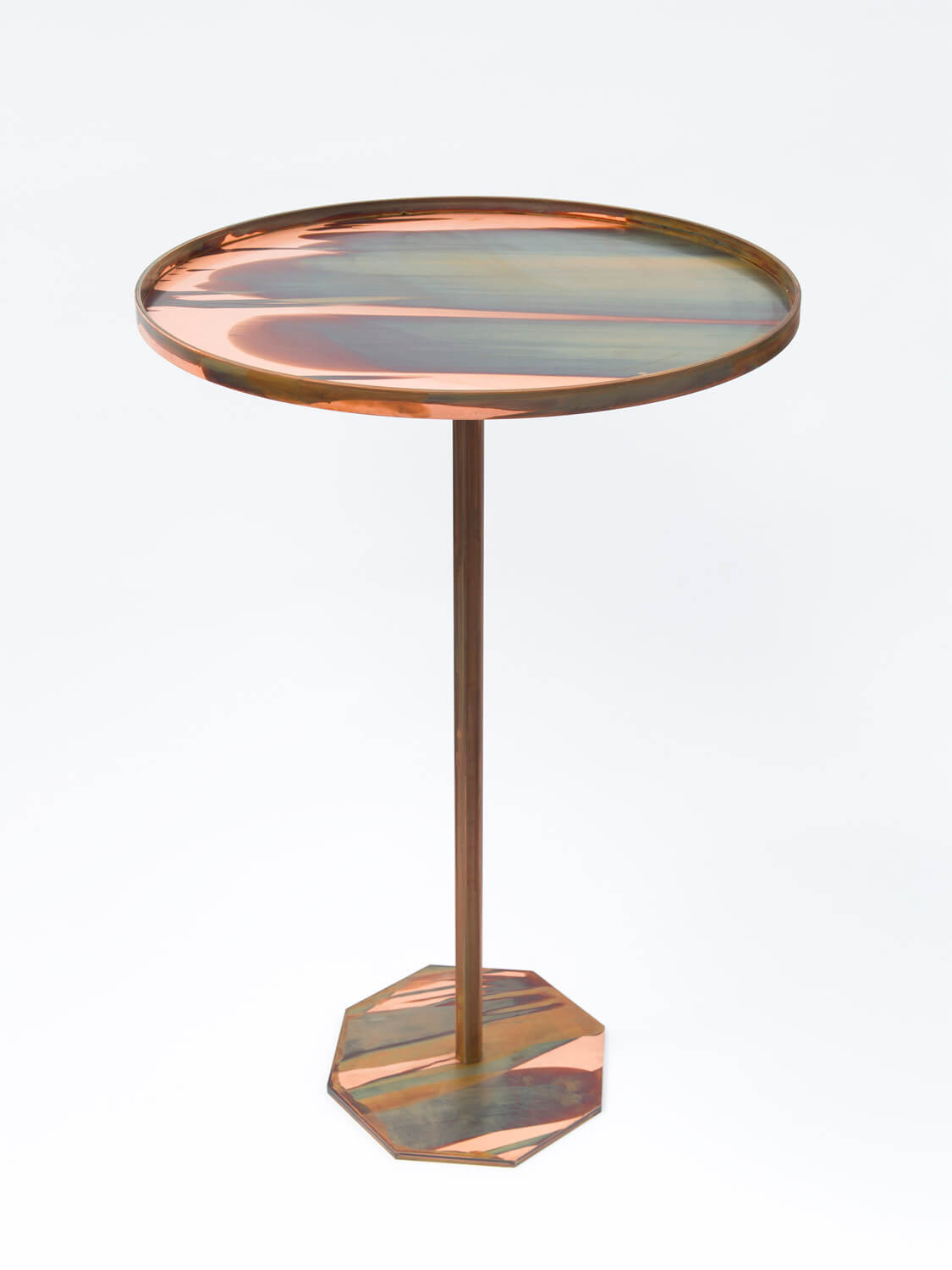 George Henry Longly, Indiscretion (2016) Copper table