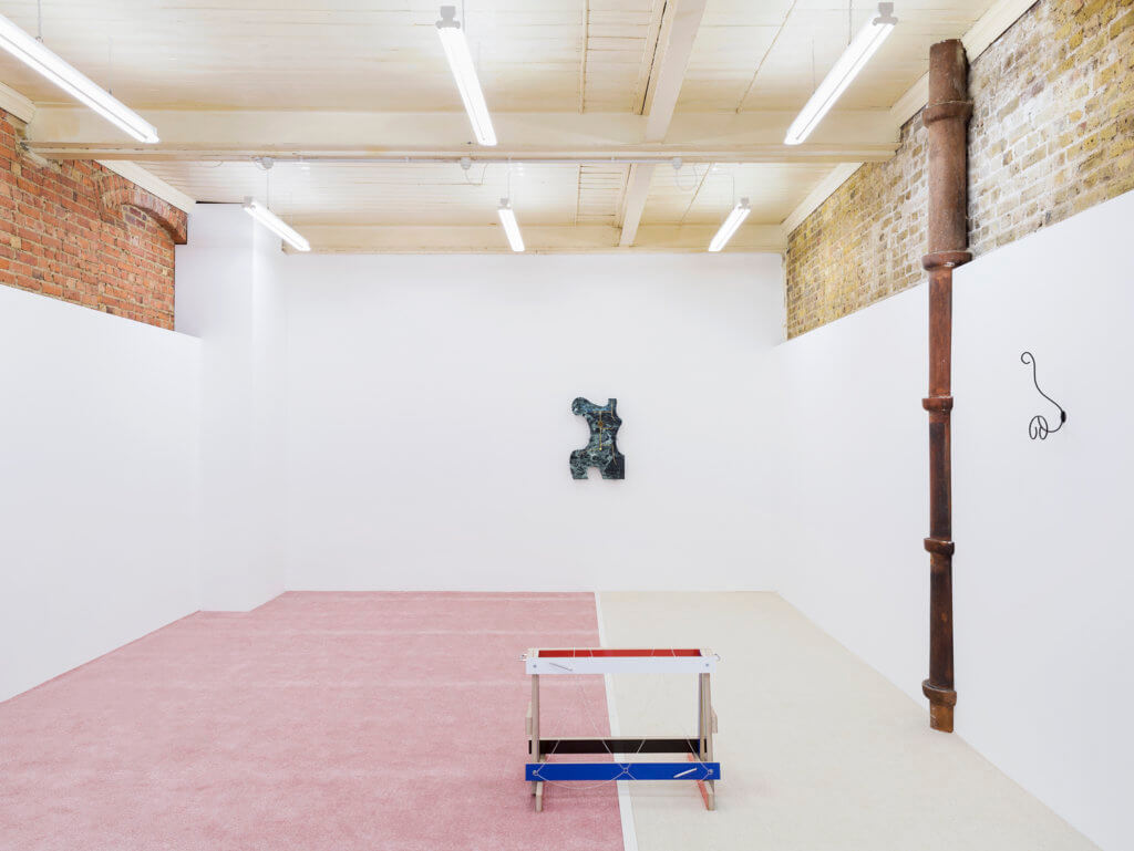 George Henry Longly, Indiscretion (2016) Installation view