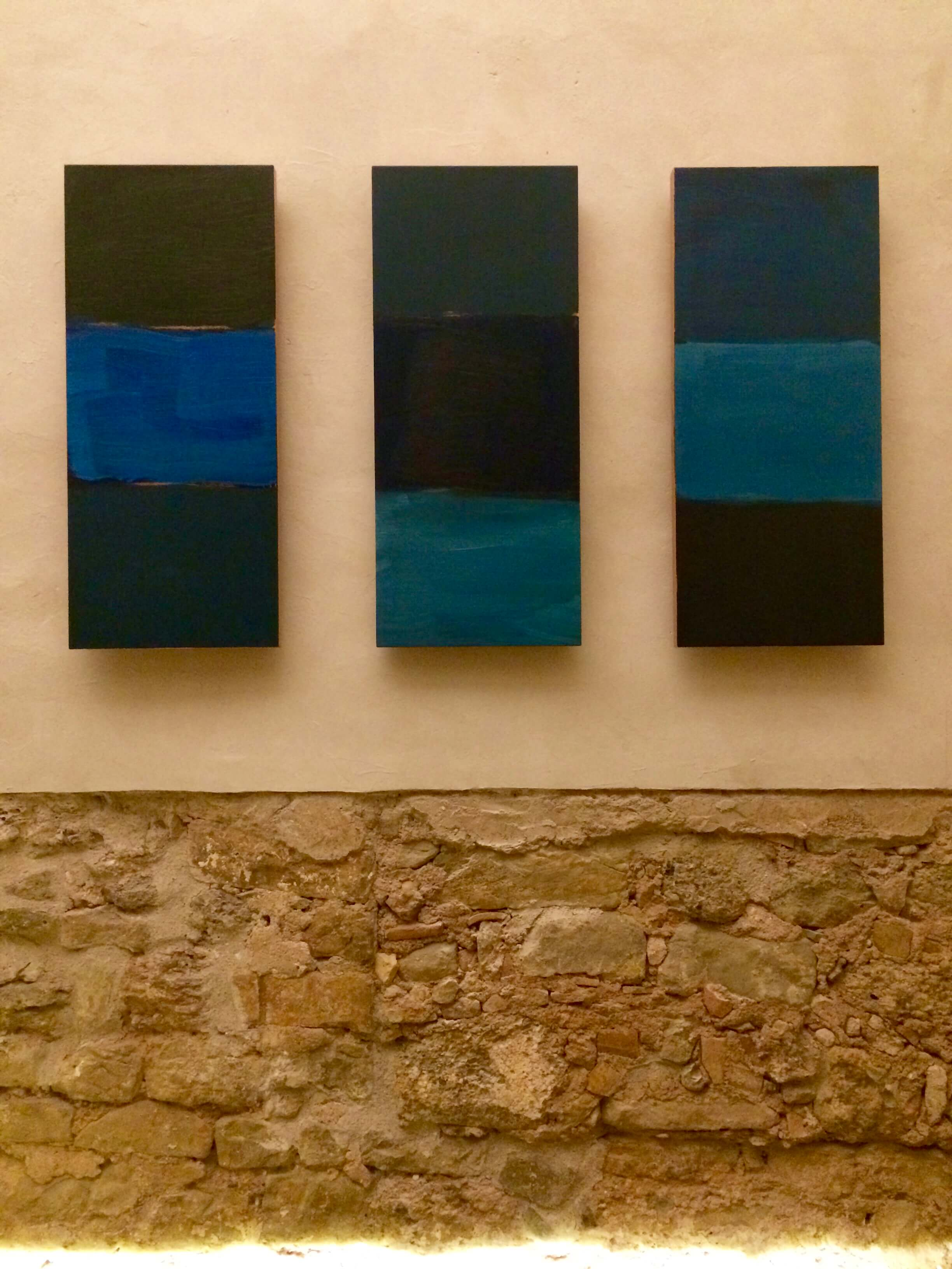 Sean Scully Project, Santa Cecilia Church in Montserrat