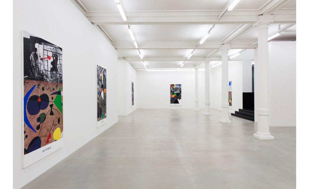 John Baldessari, Miró and Life in General, Installation view Marian Goodman Gallery, London 2017