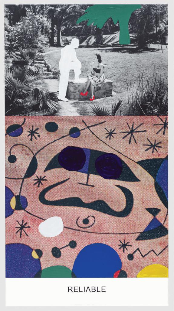 John Baldessari, Miró and Life in General- Reliable , 2016