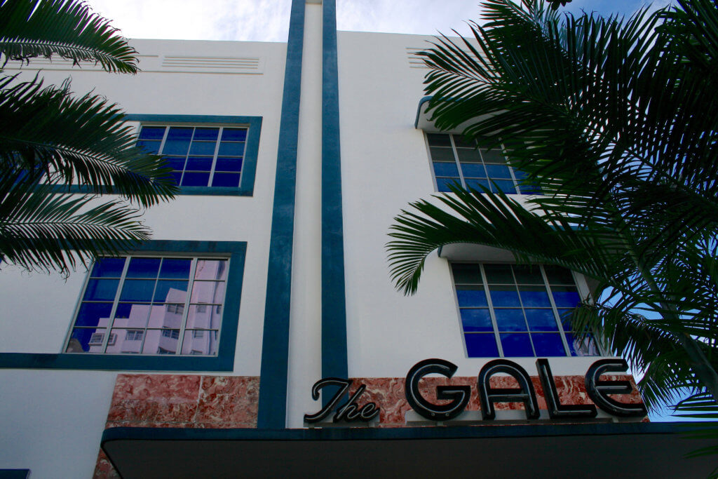 Miami South Beach Art Deco Architecture