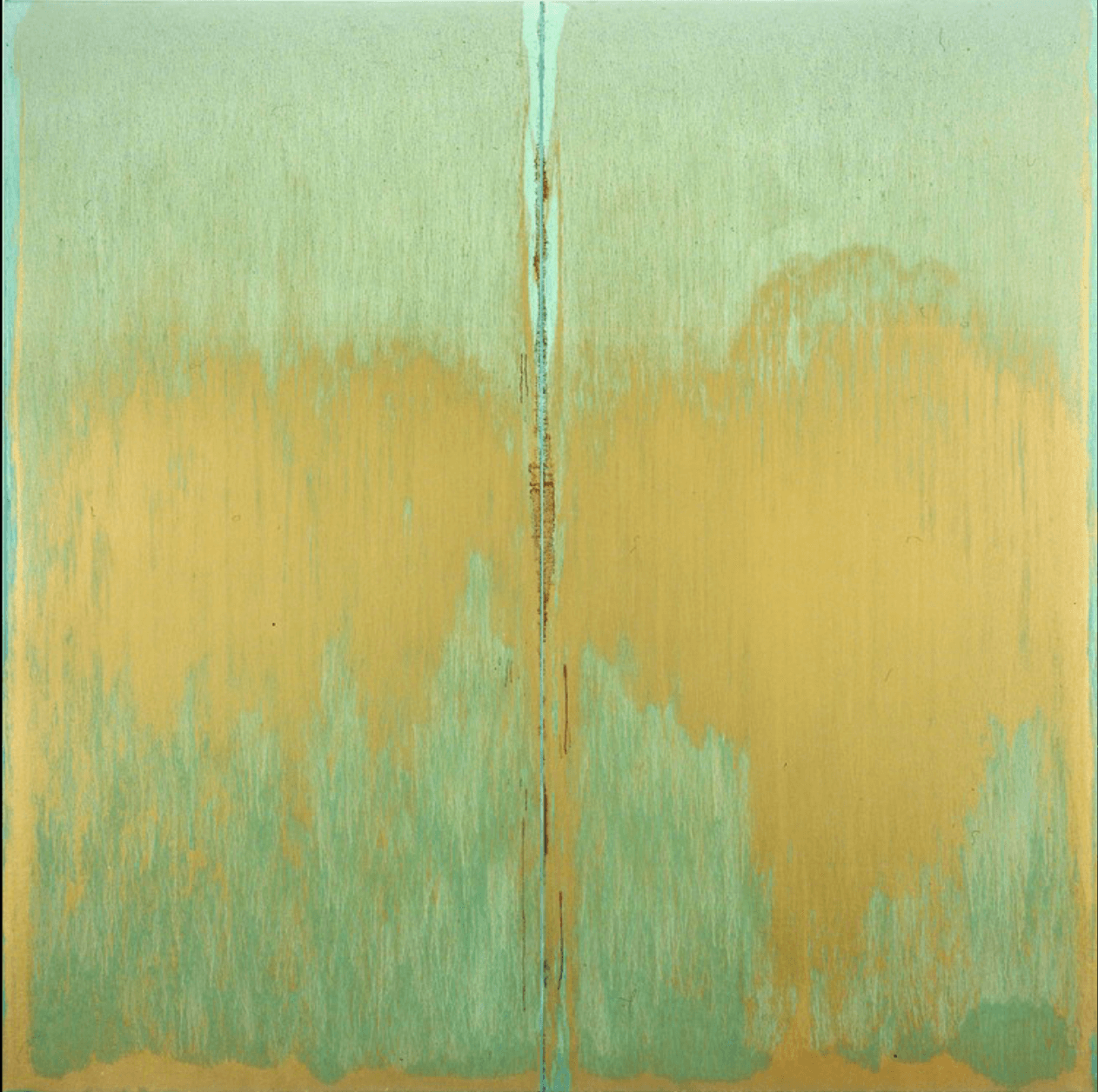 Pat Steir, Green Abyss, 2006