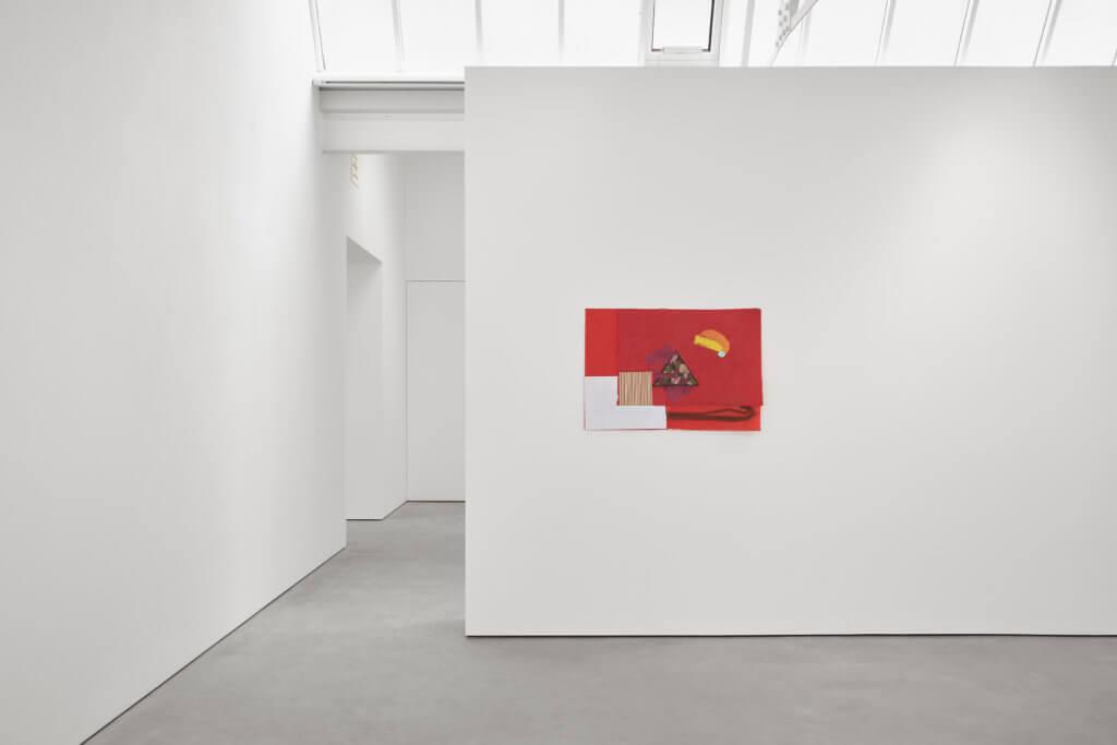 Richard Tuttle, My Birthday Puzzle exhibition view Modern Art