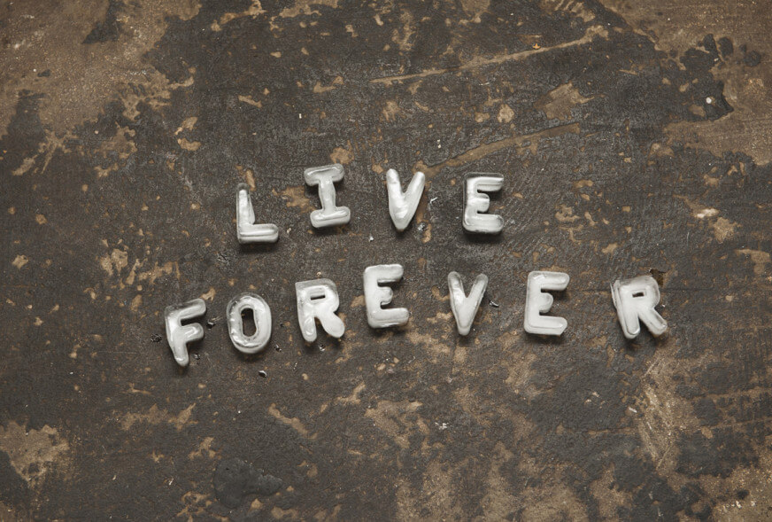 Tim Etchells, Live Forever (start sequence), 2011 Image Courtesy of the Artist