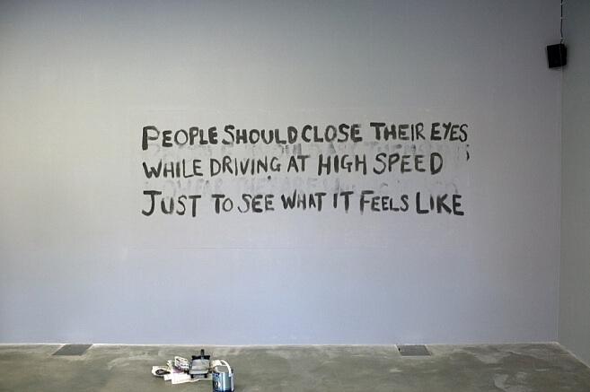 Tim Etchells, Some Imperatives, 2011