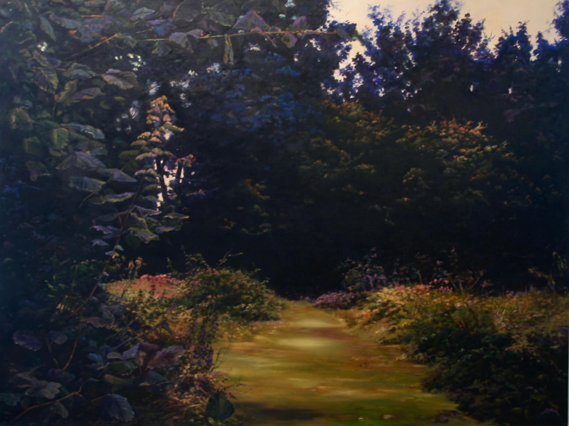 Hannah Brown, studio visit, emerging artist, painting, landscape