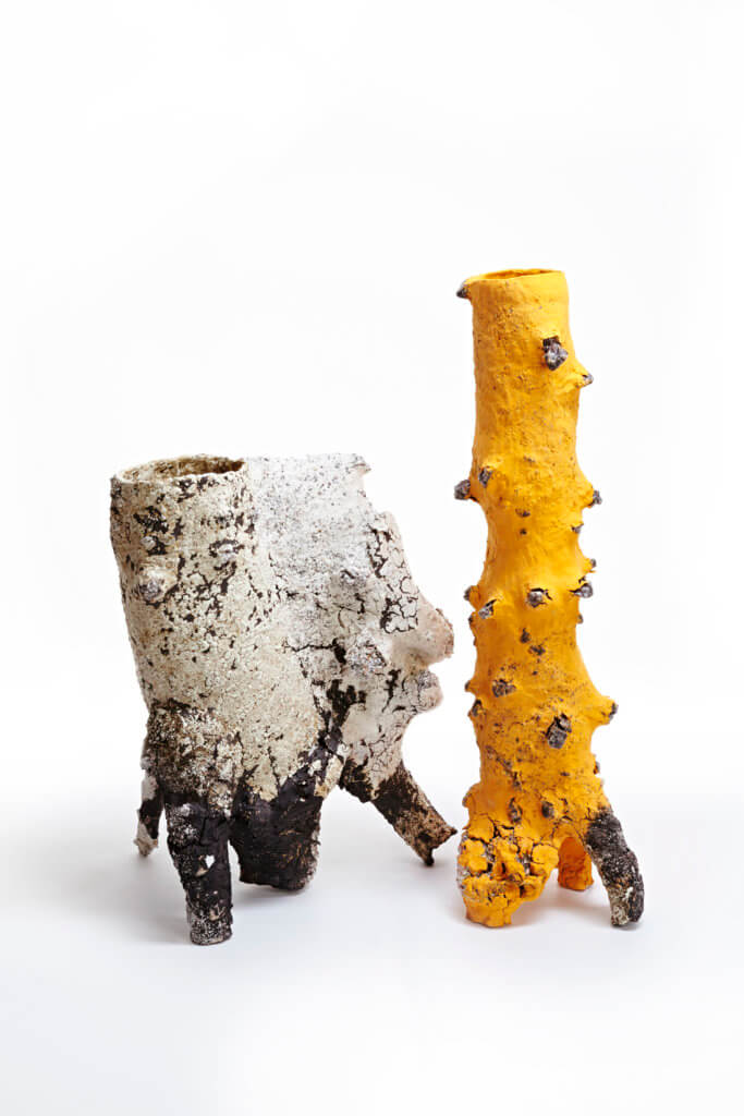 Ceramics, sculpture, vessels, texture