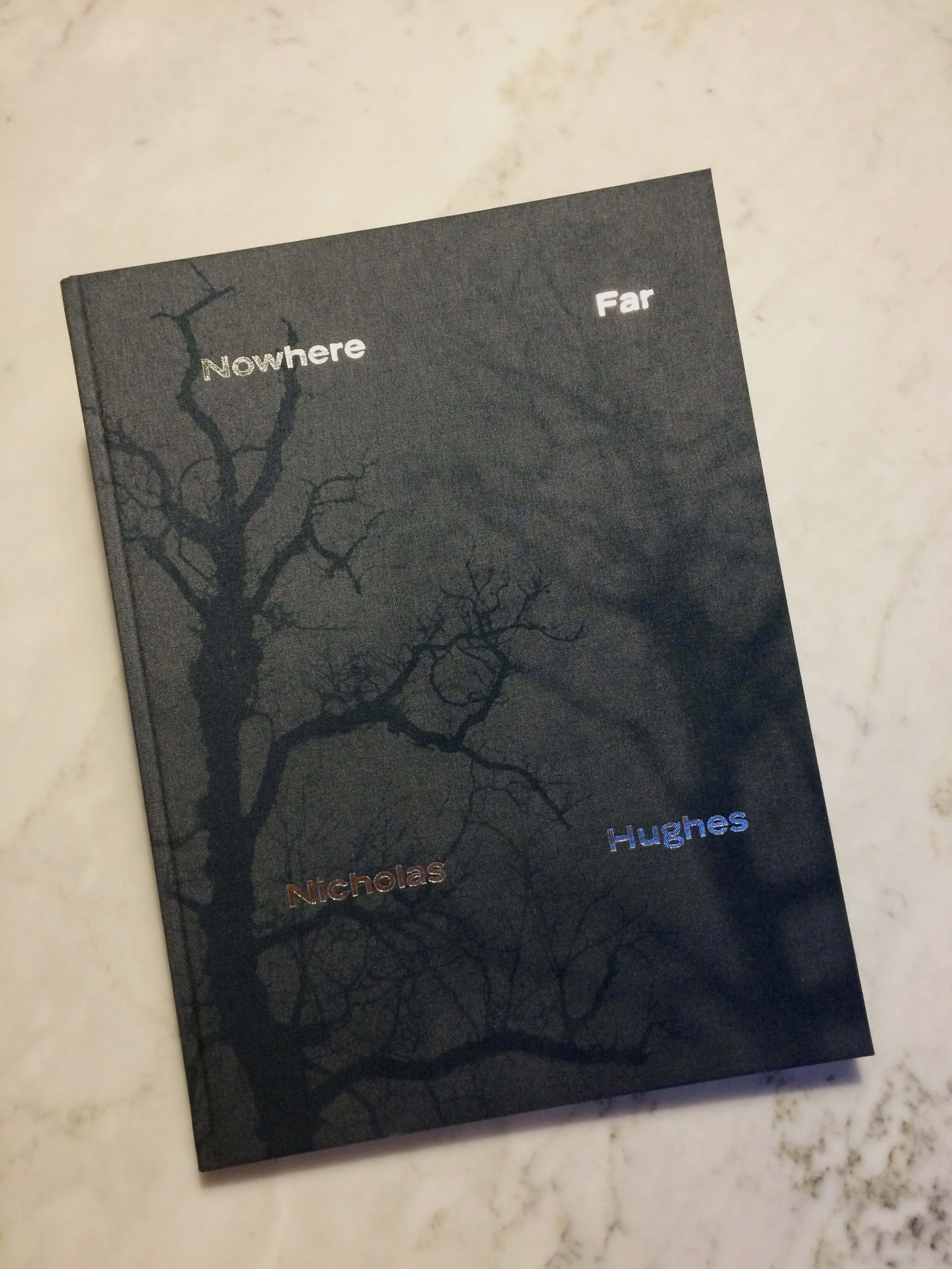 Nicholas Hughes, Nowher Far, photography book cover, Photography, Landscape