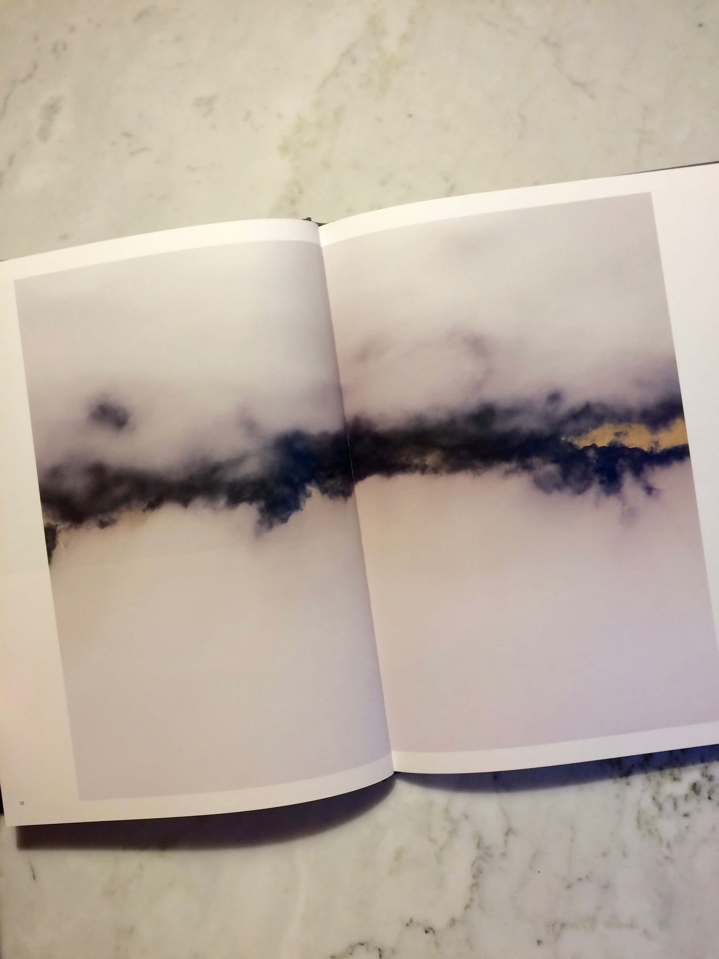 Nicholas Hughes, Nowher Far, photography book inside page Photography, Landscape