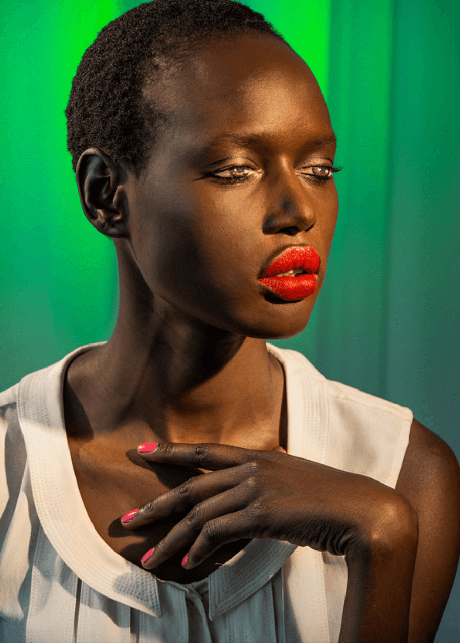 Laurie Simmons, How We See:Ajak (Green), 2015